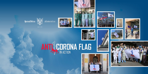 The fight against coronavirus now has its flag
