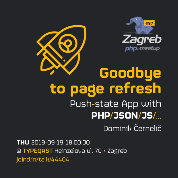 Goodbye to page refresh @ phpZg 97