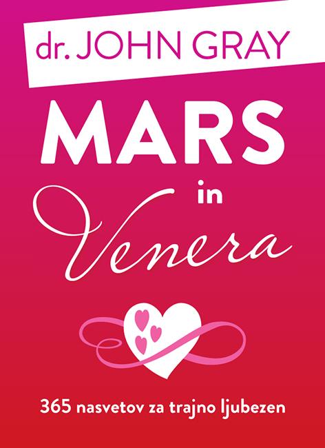 Naslovnica Mars in Venera