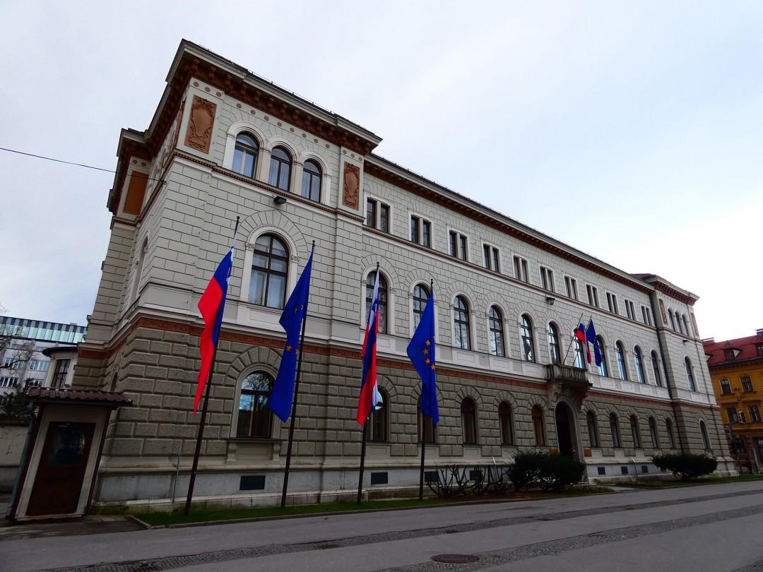 Predsedniška palača Republike Slovenije v Ljubljani