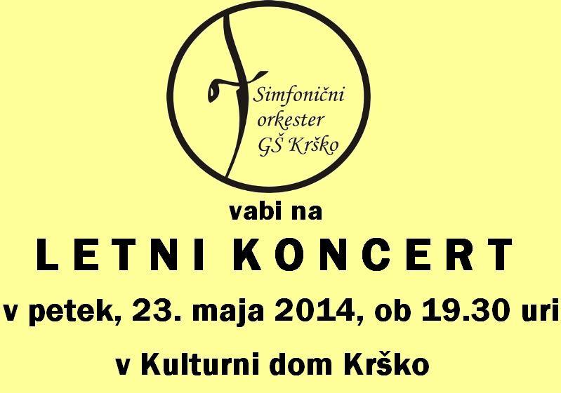 Simfonični orkester GŠ Krško: Letni koncert