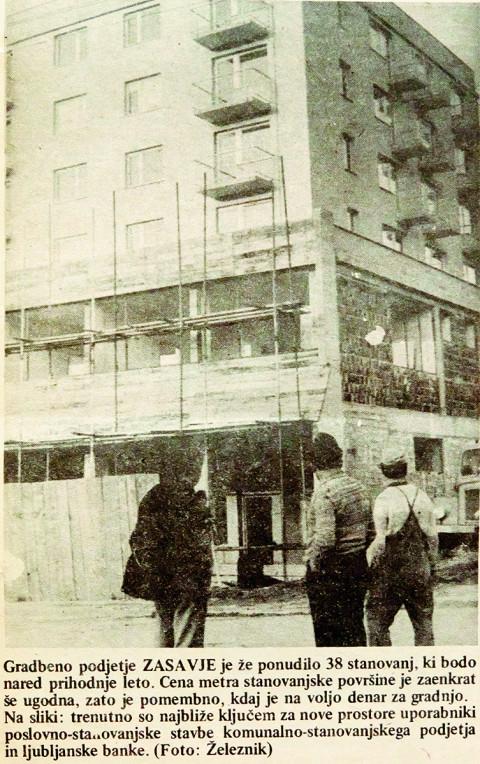 Zgodovina stavbe Komunale