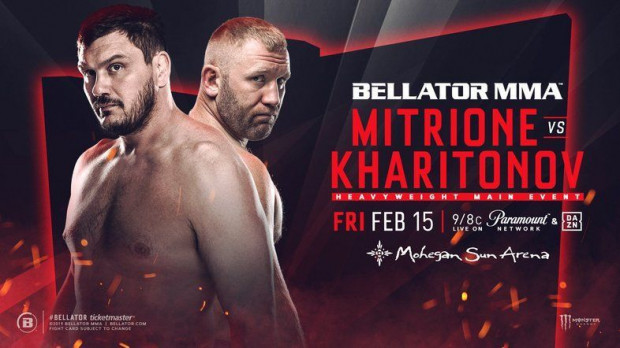 Bellator 2015: Mitrione vs. Kharitonov - RESULTS