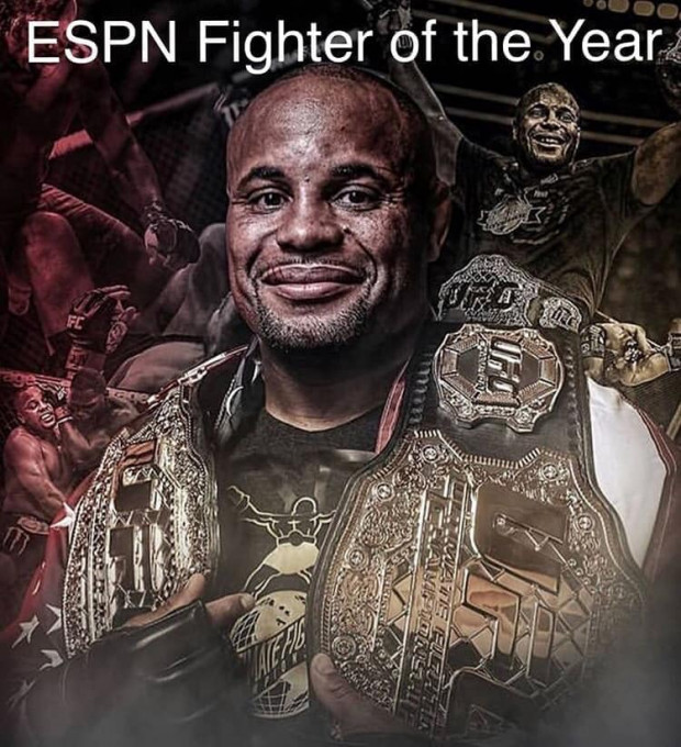 Daniel Cormier named ESPN 2018 MMA Fighter of the Year