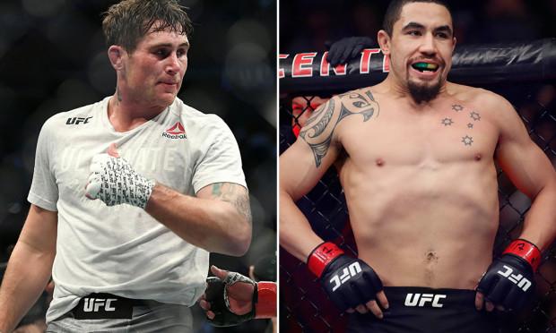 Darren Till vs. Robert Whittaker reeboked for UFC event in July