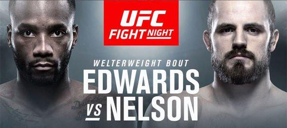 Gunnar Nelson vs. Leon Edwards set for UFC London co-main event