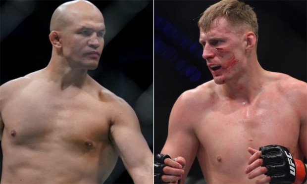Junior Dos Santos vs. Alexander Volkov set for UFC on ESPN