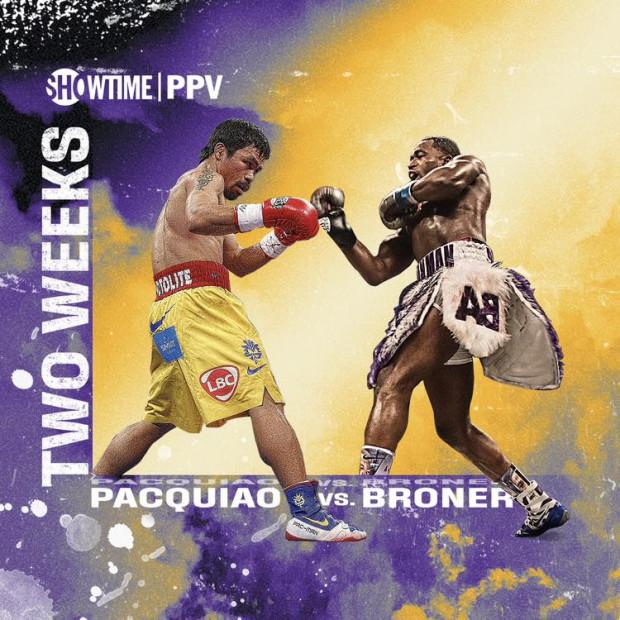 Manny Pacquiao vs. Adrien Broner
