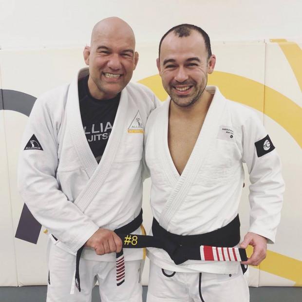 Marcelo Garcia earns his 4th stripe