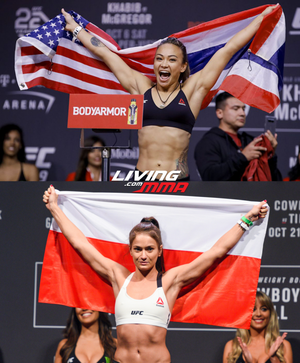Michelle Waterson vs. Karolina Kowalkiewicz set for UFC on ESPN