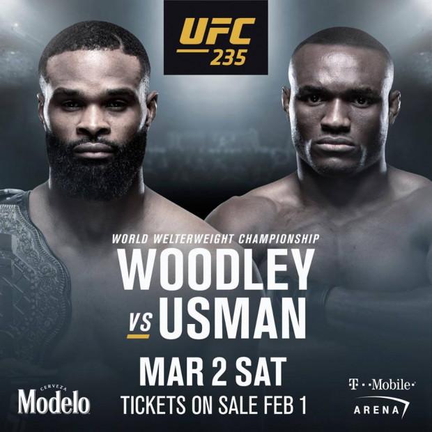 Tyron Woodley set to defend title vs. Kamaru Usman