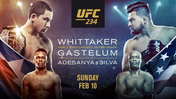 UFC 234: Whittaker vs. Gastelum