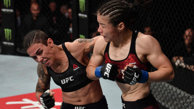 UFC Fight Night: Andrade vs. Zhang - RESULTS