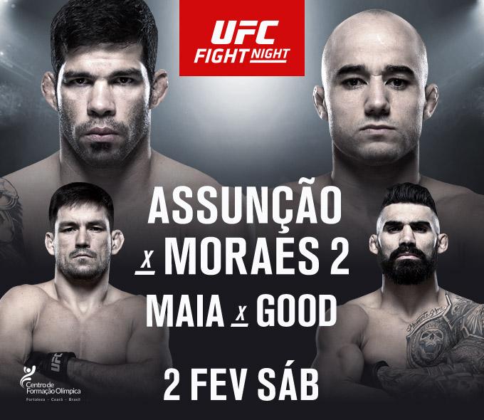 UFC Fight Night: Assunção vs. Moraes 2