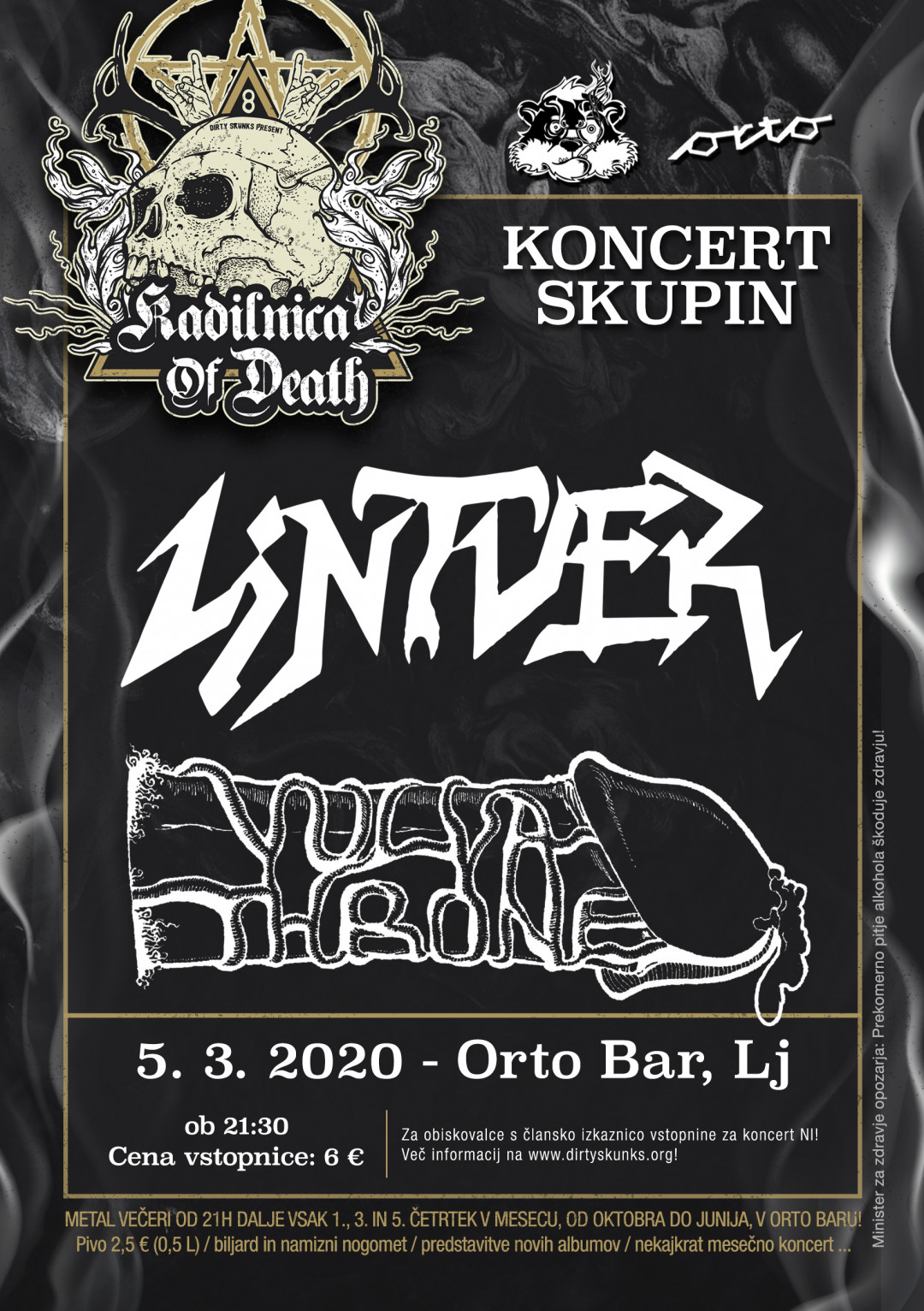 Kadilnica od Death: Lintver (Si), Vulvathrone (Si)
