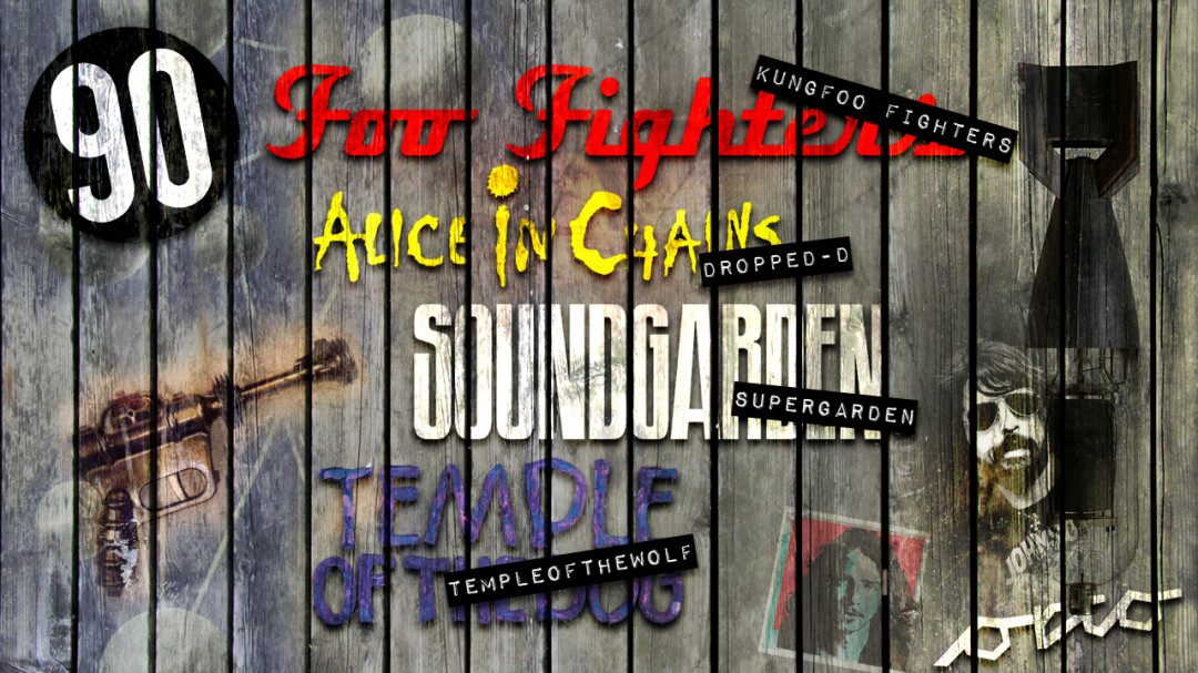 SCTP -Alice In Chains, Foo Fighters ,Soundgarden ,Temple of the dog