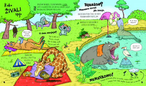 Kako živali spijo