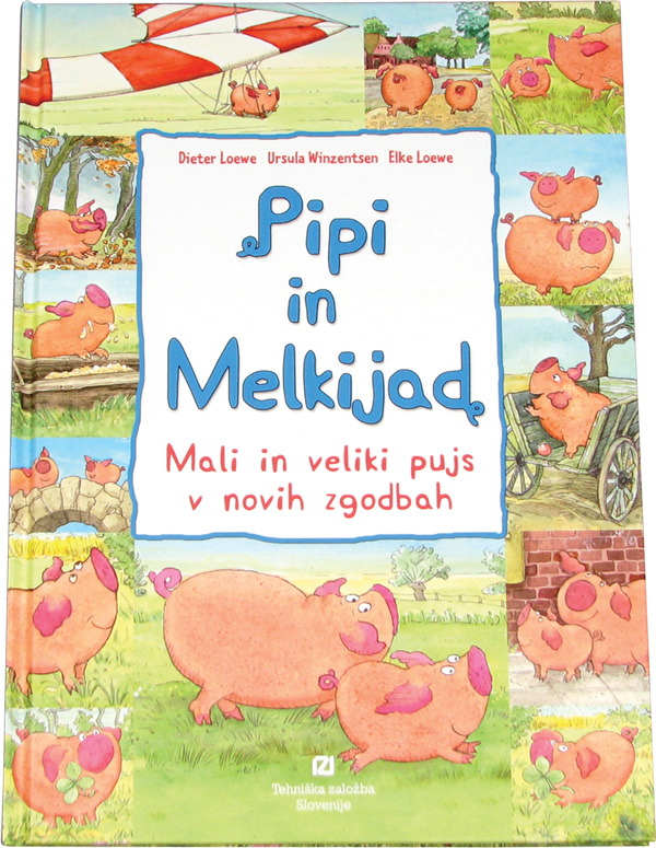 Pipi in melkijad v novih zgodbah