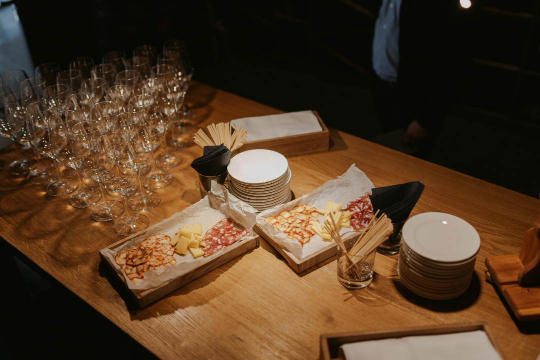Wine degustation and local products