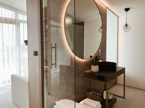 Deluxe suite (bathroom)